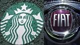 EU roasts Starbucks, slams Fiat Chrysler over 'illegal' tax deals