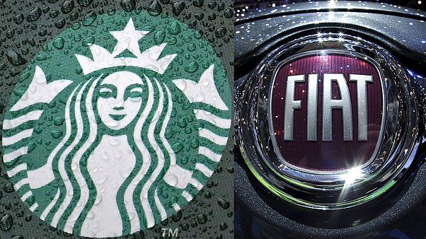 ЕС требует от Fiat и Starbucks €30 млн налогов