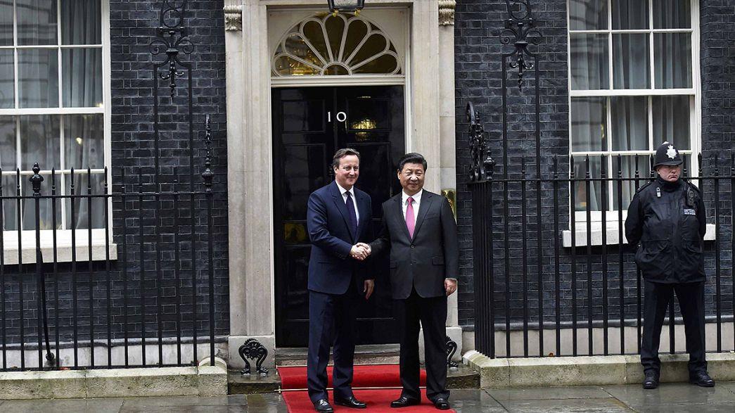 Accord records entre la Chine et la Grande-Bretagne