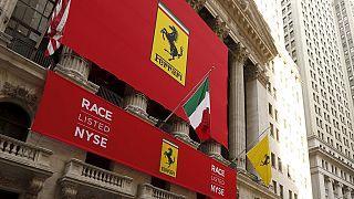 Ferrari hisseleri New York Borsası'nda