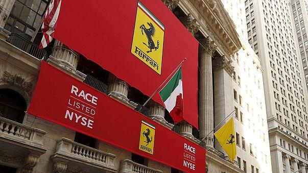 Ferrari fait une entrée spectaculaire à Wall Street