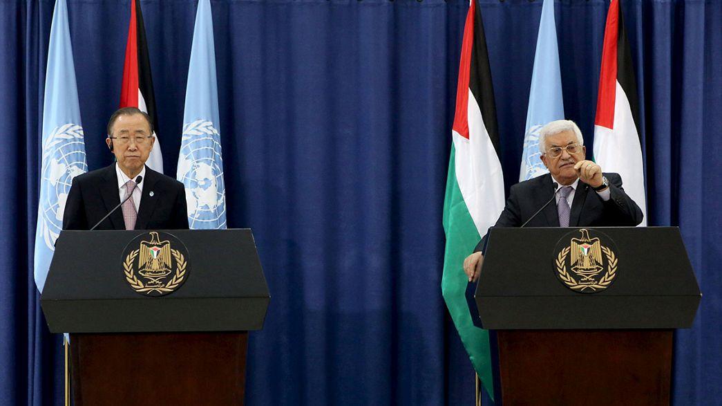 """Tensione tra israeliani e palestinesi, Ban Ki-Moon: """"Sono molto preoccupato"""""""