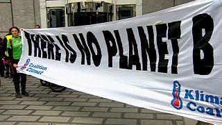 Marcha pelo Clima em Bruxelas