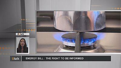 Facture d'énergie : le droit d'être informé