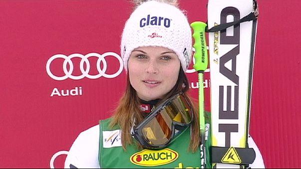 Anna Fenninger sezonu açmadan kapattı