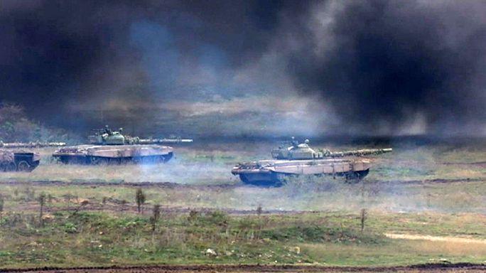 Harci gépek karcolták az eget Gyulafirátót felett