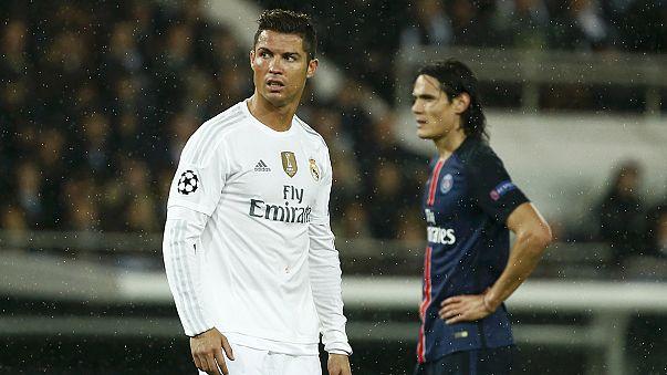 دوري أبطال أوروبا: ريال مدريد يتعادل سلبيا مع باريس سان جيرمان