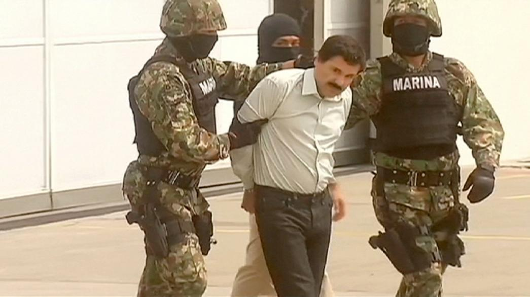 Mexico holds suspects behind El Chapo jail break