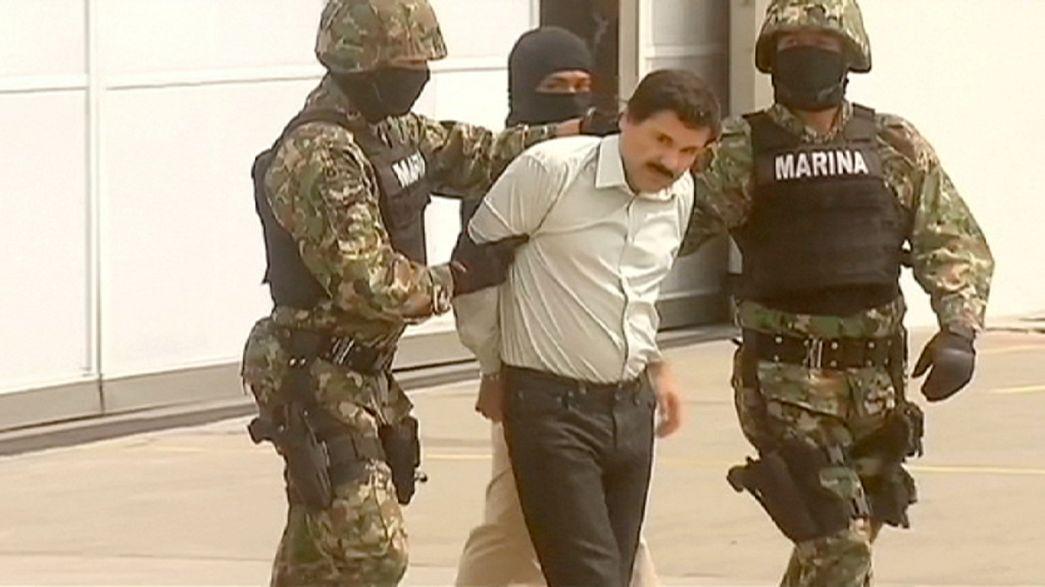 """Mexique : """"El Chapo"""" court toujours, mais cinq complices présumés ont été arrêtés"""