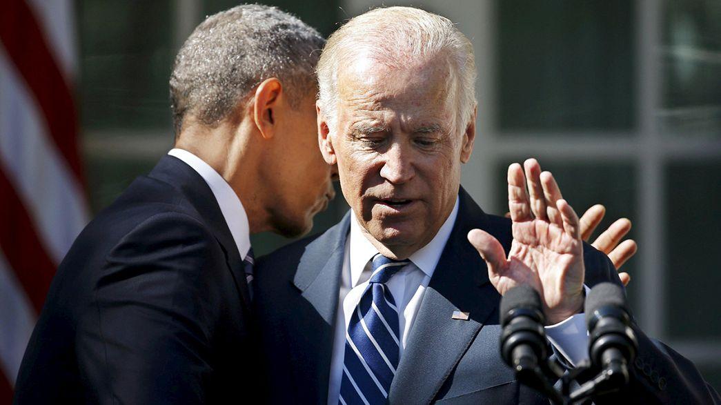 Biden não se candidata, Clinton tem o caminho aberto