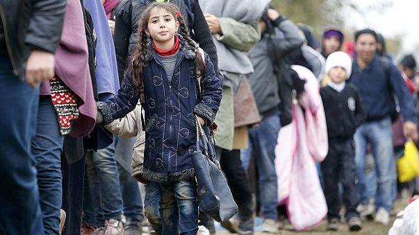 Nouveau record dans l'afflux de migrants en Slovénie