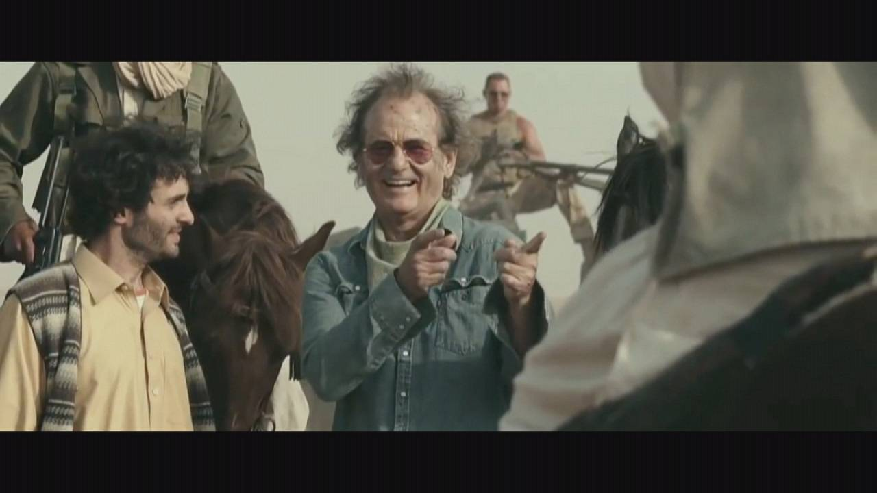 Bill Murray rock the kasbah !