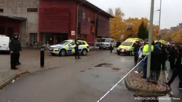 One dead, four wounded in Swedish school sword attack