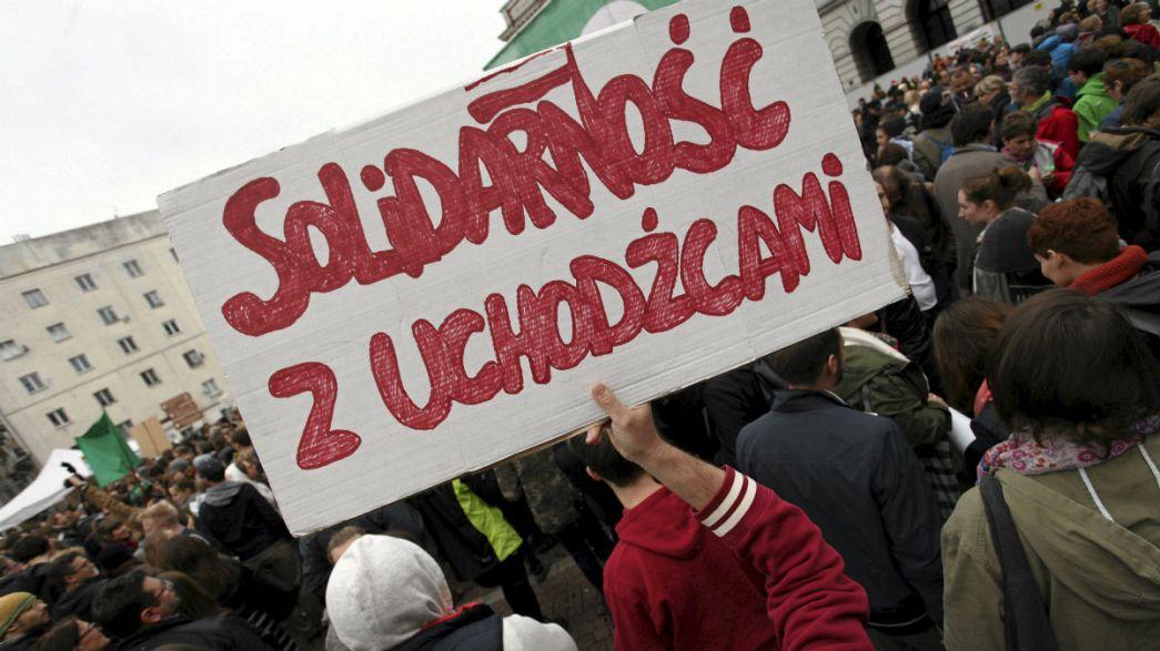"""Polónia: Pouca """"solidarność"""" para com os refugiados"""