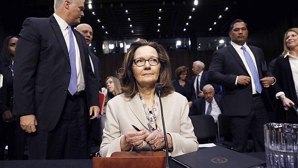 Image: CIA director nominee Haspel testifies at Senate Intelligence Committ