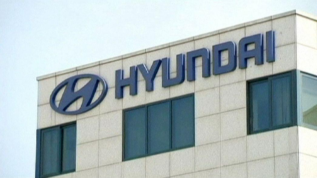 Hyundai, utili in frenata a causa del rallentamento cinese