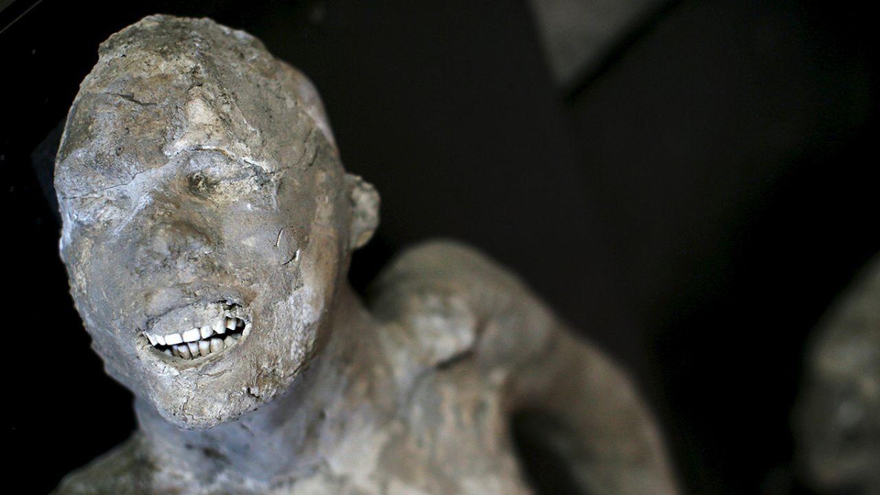 Los habitantes de Pompeya murieron por el derrumbe de sus casas