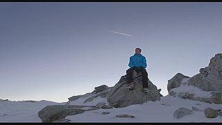 """""""الثلج والسماء"""" للتوعية بمخاطر تغير المناخ"""