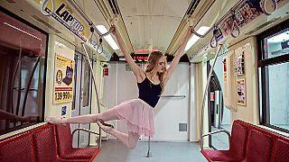 Dancing beauties of Budapest