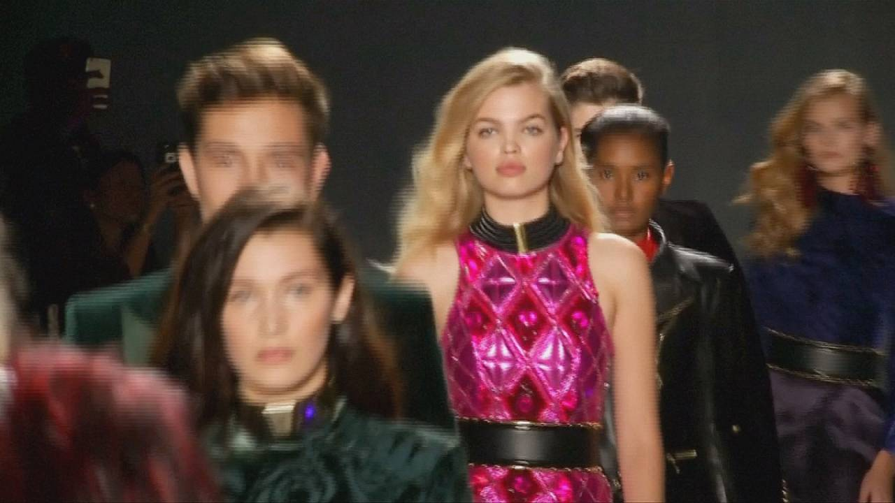 H&M teams up with Balmain for new rock'n roll collection