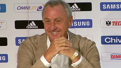 Dutch great Cruyff diagnosed with lung cancer