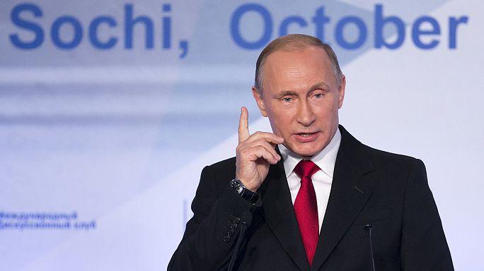 بوتين: عملياتنا العسكرية في سوريا هدفها إحلال السلام في المنطقة
