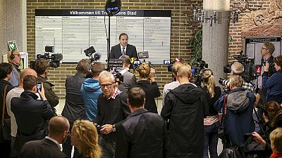 Masked man kills a pupil and a teacher at a school in Sweden