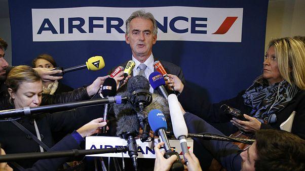 تظاهرات علیه حذف یکهزار شغل در شرکت هواپیمایی «ایر فرانس»