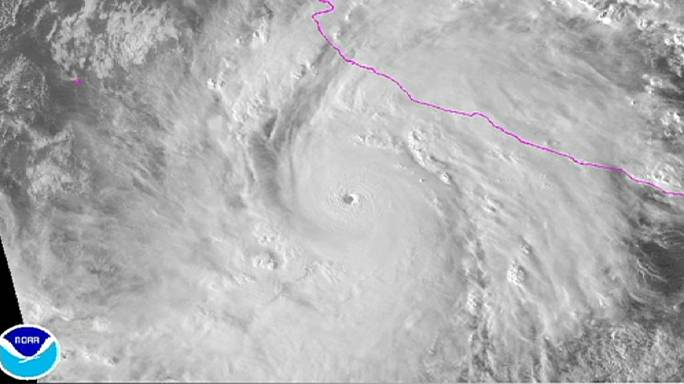 Hatalmas hurrikán csapott le Mexikóra