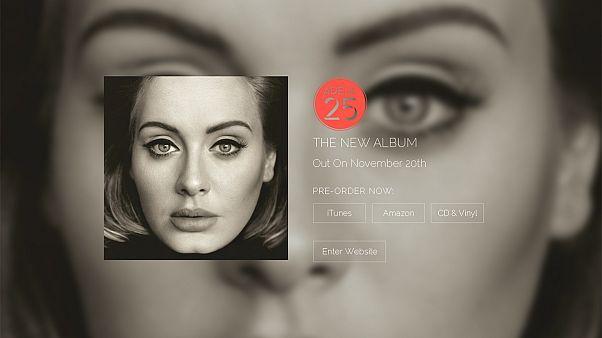 """Adele says """"Hello"""" ahead of new album release"""