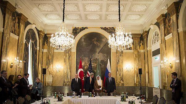 مباحثات حول الأزمة السورية في فيينا
