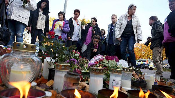 Sweden school attack: sword attacker had racist motive, say police