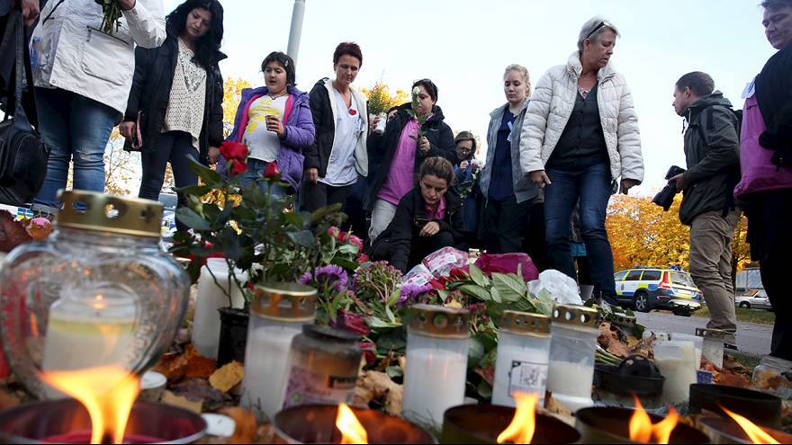 Σουηδία: Θρήνος για τα θύματα της επίθεσης σε σχολείο