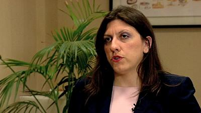 """Zoe Konstantopoulou: """"The greek debt is illegal and should not be paid"""""""