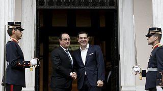 France backs Greek efforts to renegotiate bailout