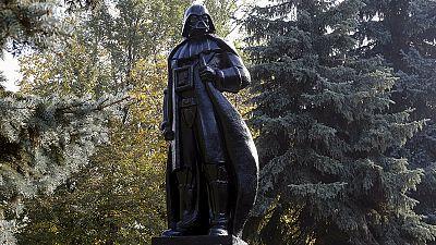 Ukraine: Darth Vader runs for mayor