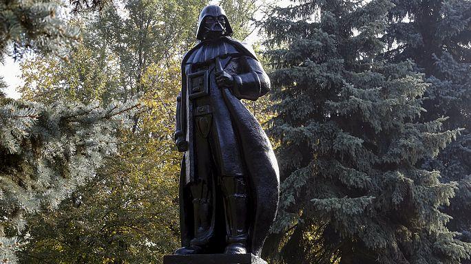 'Darth Vader' Odessa Belediye Başkanlığı için yarışmaya hazırlanıyor