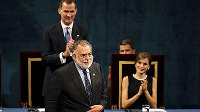 Francis Ford Coppola commuove ai premi Principessa delle Asturie