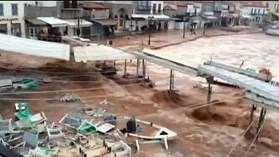 Maltempo in Grecia, alluvionata l'isola di Idra