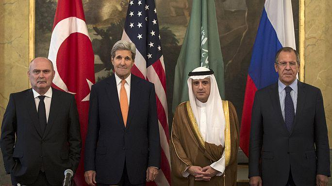 النزاع السوري محور لقاء رباعي في فيينا