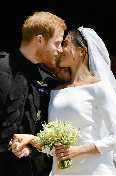 The Duke of Sussex picked some of the flowers himself.
