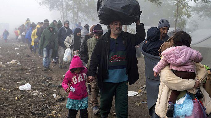 Crianças e deficientes aumentam na vaga de refugiados