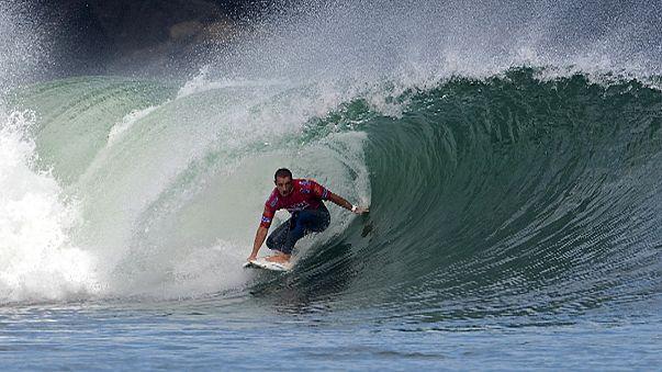 Surf: Souza elimina Pires em duelo luso-brasileiro em Peniche