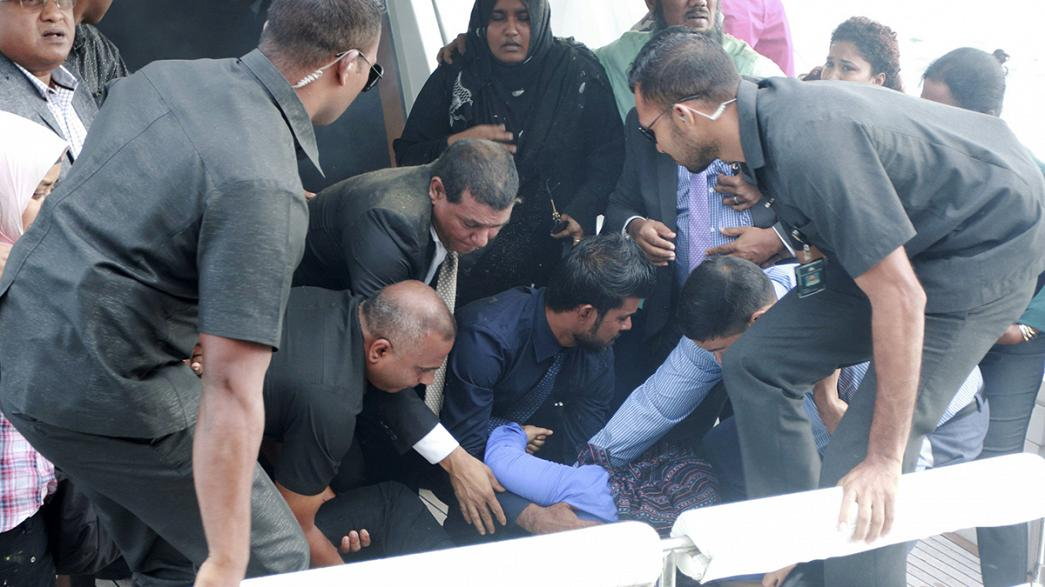 Maldives vice president arrested and charged with attempted murder of president