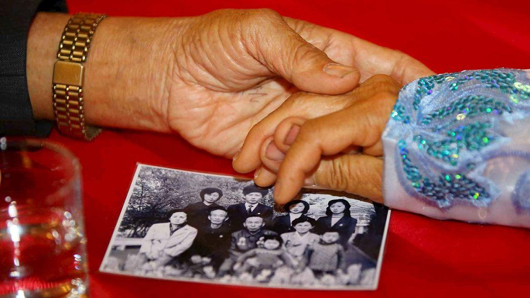 Kore Yarımadası'nda parçalanmış aileler buluşuyor