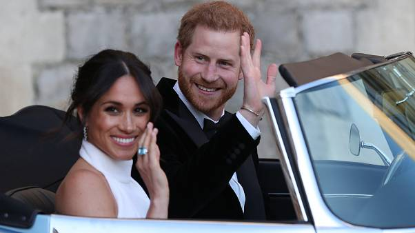 Image: Prince Harry Marries Ms. Meghan Markle - Windsor Castle