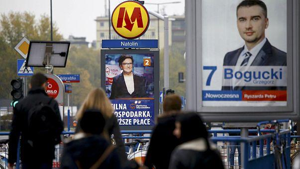 Parlamenti választásokat tartanak Lengyelországban