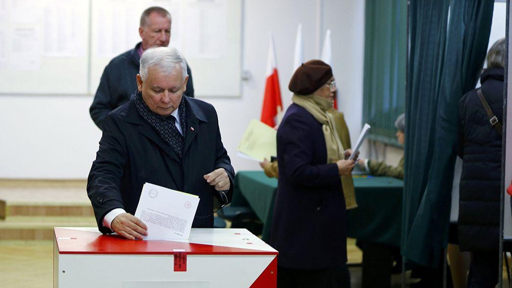 Polonia mide hoy en las urnas la magnitud del giro a la derecha que auguran los sondeos desde hace meses