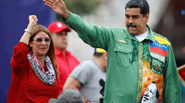 Image: Closing campaign rally of Nicolas Maduro