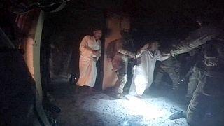 Difunden imágenes del rescate de 70 kurdos que iban a ser ejecutados por el grupo Estado Islámico